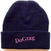 Stocking Hat Black/Pink