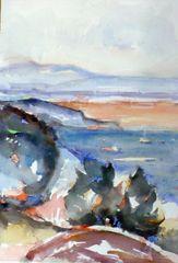 "#189 Minimal Bay, Ontario - 15""x22"", Watercolour on paper"