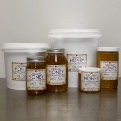 ORGANIC HONEY, Canadian, Clover, raw 16OZ