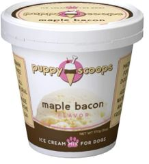 Puppy Scoops Ice Cream Mix: Maple Bacon