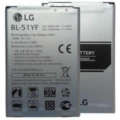 New Battery For LG G4 BL-51YF Capacity: 3000mAh DS1402 H810 H811 H818 H819 LS991 VS986