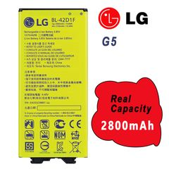 New Battery For LG G5 BL-42D1F Capacity: 2800mAh H820 H840 H848 H850 H860 LS992 RS988 VS987
