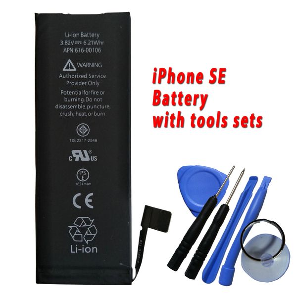 Apple iPhone SE Internal Battery Capacity: 1650mAh include Tools Kits 616-00106
