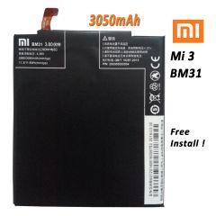 New Internal Battery for Xiaomi MI3 BM31 3050mAh