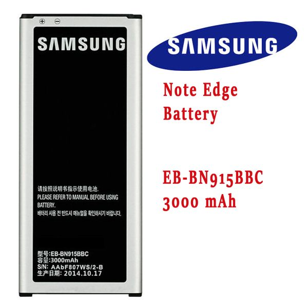 Samsung Galaxy Note Edge Battery, N9150, N915 Series EB-BN915BBE Capacity: 3000mAh