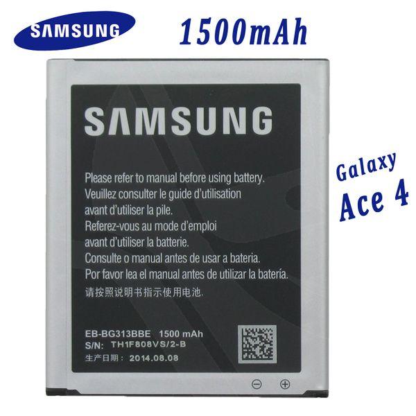 New Battery for Samsung Galaxy Ace4 Ace 4 Capacity: 1500mAh EB-BG313BBE Ace NXT J1 Mini SM-G310 SM-G313
