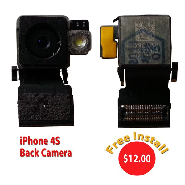 Apple iPhone 4S Back Camera Module Replacement