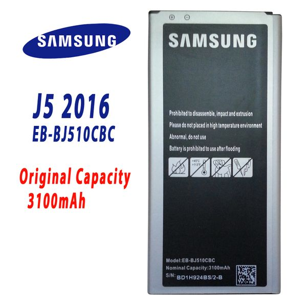 For Samsung Galaxy J5(2016) Phone Li-ion Internal Rechargeable 3100mAh Battery EB-BJ510CBC