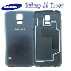 White / Black Battery Back Door Cover Case Housing For Samsung Galaxy S5 i9600