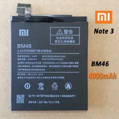 New Internal Battery for Xiaomi Note 3 Pro BM46 4000mAh, Note 3 BM3A 3400mAh