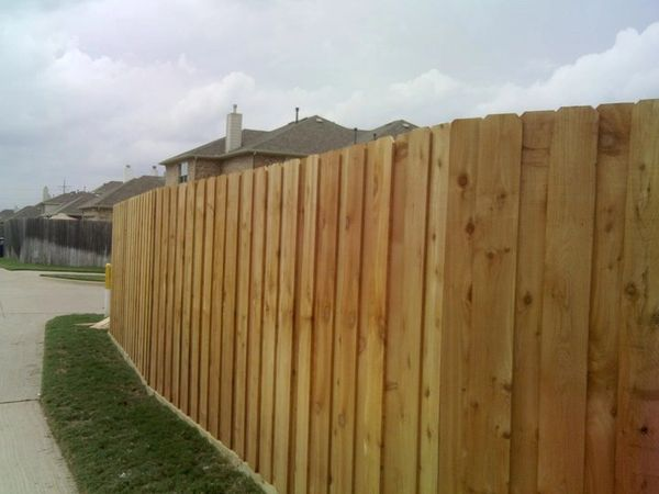 Af 8 Foot Board On Board Cedar Don Goins Fencing