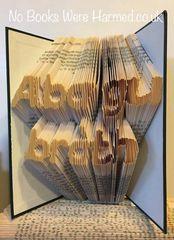 """Alba gu bràth"" : : Scotland Forever : : Hand folded, never cut book art"