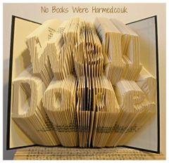 Well Done! : : Hand folded, non cut book art : : Congratulations, award, achievement