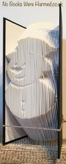 Mr Jingles The Snowman : : Hand folded book art