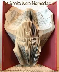 READY TO POST Viking : : Nordic, Shetland, Warrior, Norse : : Hand folded book art