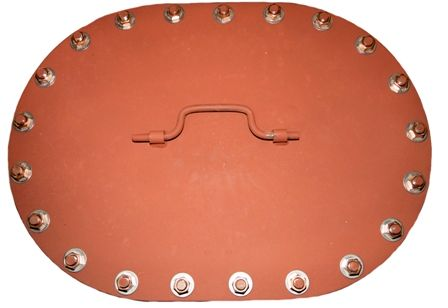 Watertight Semi-Flush Bolted Plate Manhole