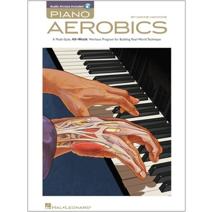 Piano Instruction 6 Piano Aerobics Book And Cd Item Hl 311863