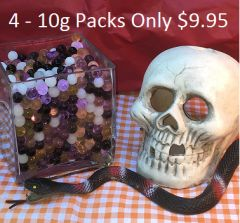 Water Beads Halloween Mix (4 - 10g packs)