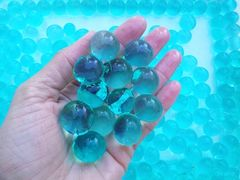 Water Beads (Large) Blue