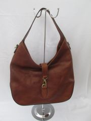 Italian Antique Leather Shoulder Bag L56