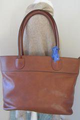 Antique Italian Leather Shoulder Bag L66