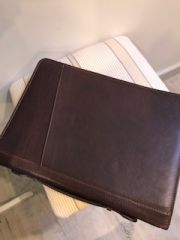 Italian Leather Document Wallet