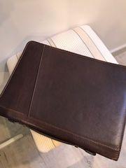 Italian Leather Document Wallet