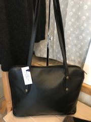 Italian Leather Shoulder Bag - L196