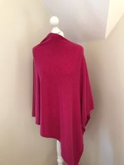 Peacock Pink Poncho