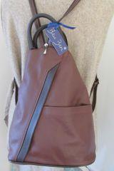 Italian Leather Back Pack - L65