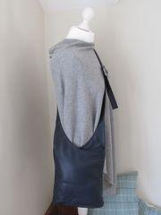 Italian Leather Navy Cross body Bag L34