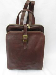 Italian Leather Backpack - L47