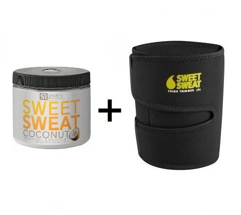 SWEET SWEAT COCONUT (383G) & THIGH TRIMMER (PAIR)