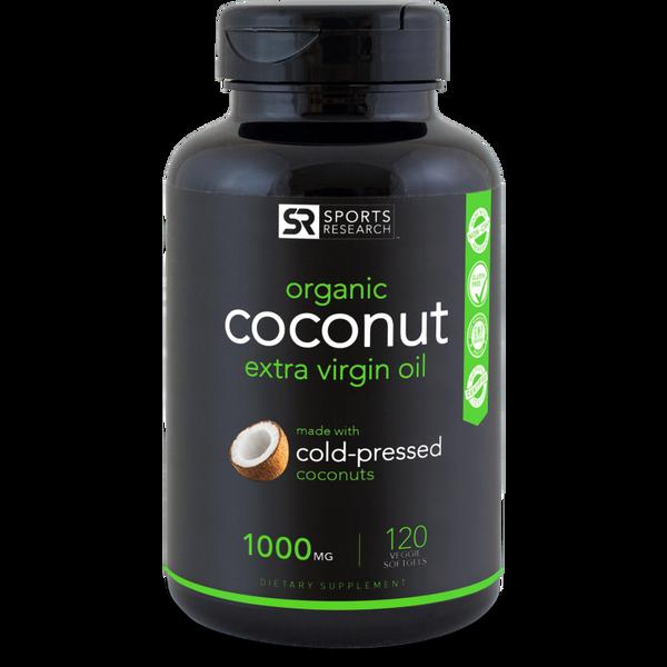 Organic Coconut Oil 1000mg