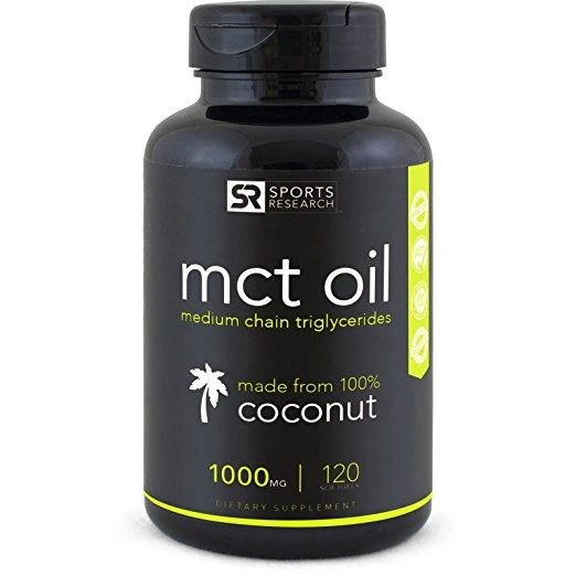 MCT OIL - 120 Softgels