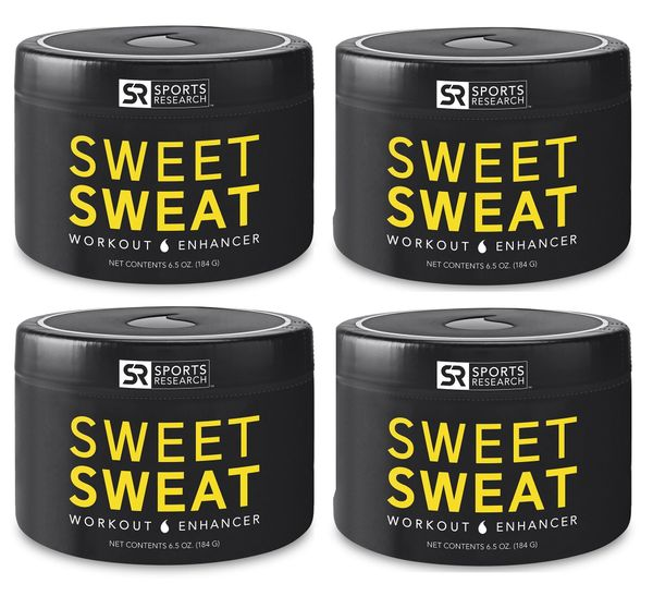 4 Sweet Sweat Jar (6.5oz) - € 24.50 each
