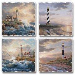 Dawning Light Absorbent Coaster Set