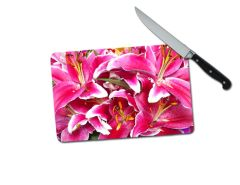 Lily Small Tempered Glass Cutting Board
