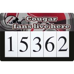 Cougar Address Sign Large