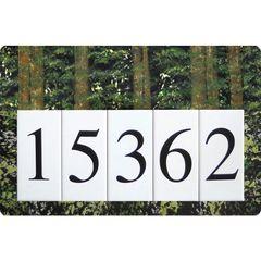 Trees Address Sign Large