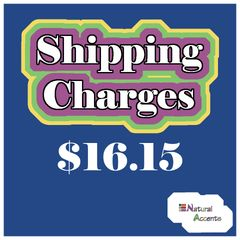 $16.15 Shipping Charges For Your Order Taken At Our Show