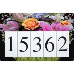 Bouquet Address Sign Large