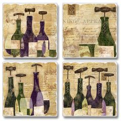 Chianti Absorbent Coaster Set