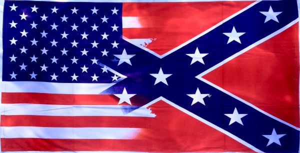American Amp Confederate Flag Blended Beach Towel Dl