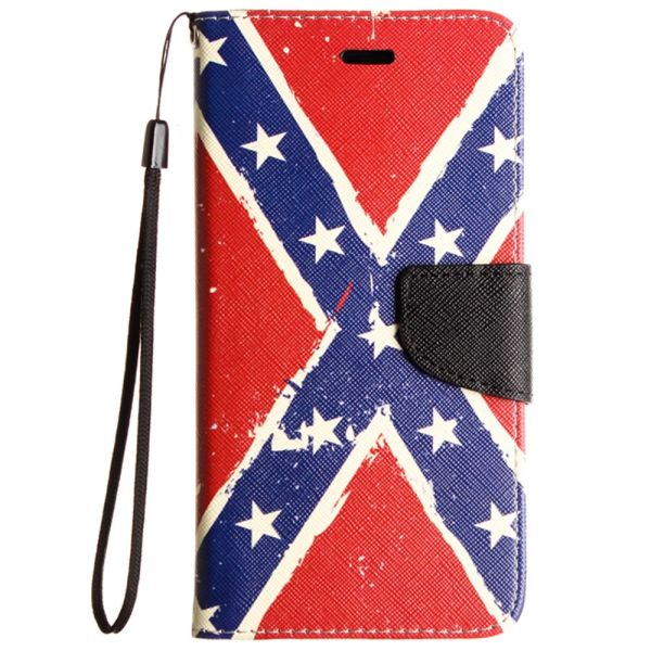 painting Leather Flip Wallet Soft Case For Samsung Galaxy