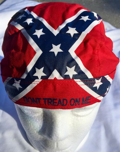 Rebel Quot Don T Tread On Me Quot Head Wrap With Sweatband Dl
