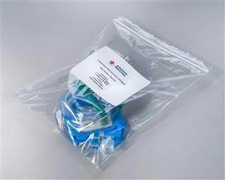 Adult and Infant CPR barrier mask kit - delivered at class