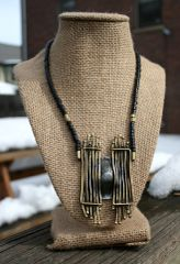 Volare Bronze Tribal Necklace
