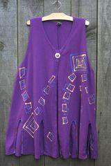 Painted Squares Vest