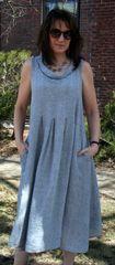 Luukaa Linen Gauze Dress -- LAST ONE